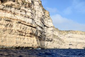 Le scogliere della costa sud di Gozo
