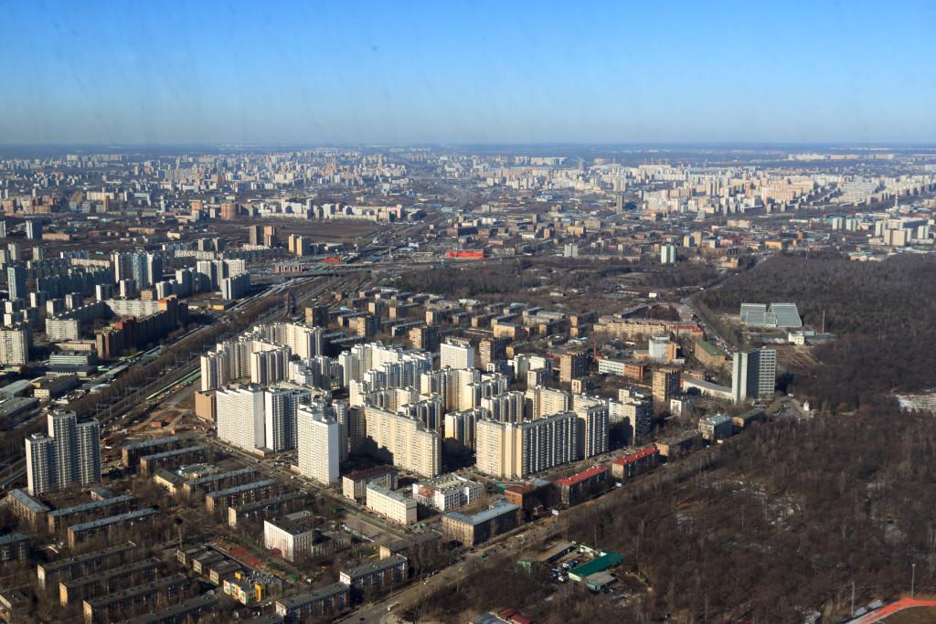 Mosca-dall-alto