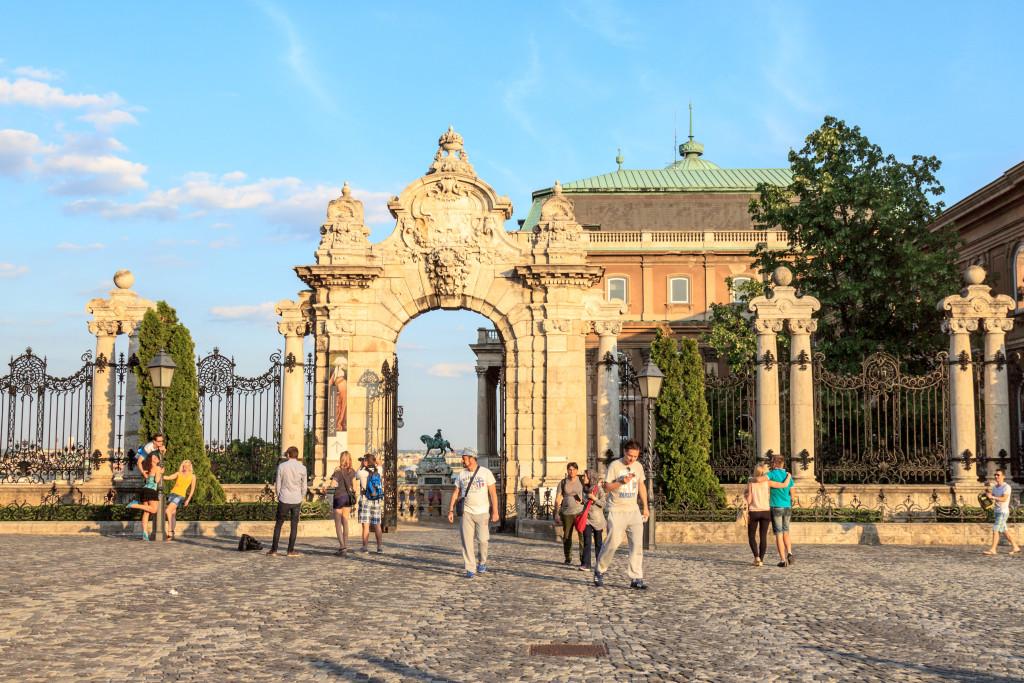 Budapest dalla sommità