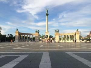 Piazza degli Eroi Budapest