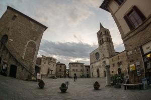 Piazza Silvestri Bevagna