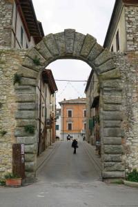 Una delle porte d'ingresso a Castiglione del Lago