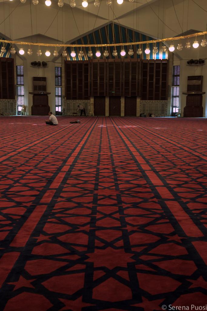 interni moschea blu Amman