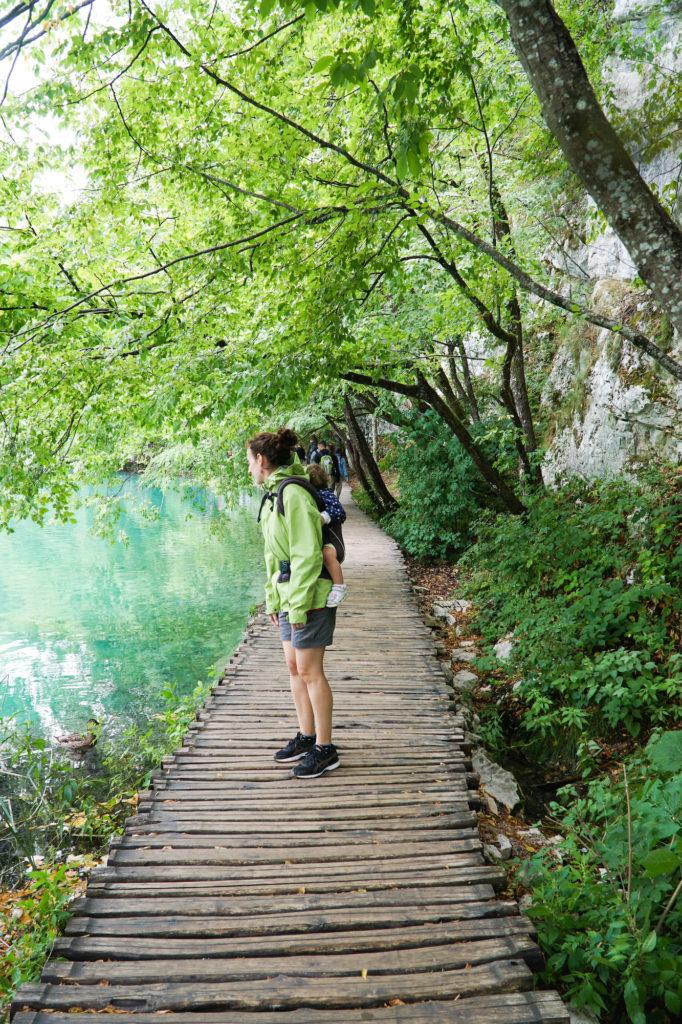 Parco nazionale dei laghi di plitvice in croazia for Disegni di laghi