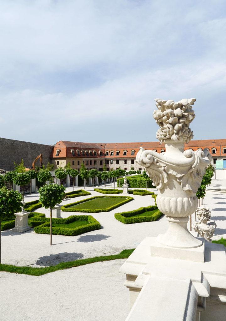 Giardino del Castello di Bratislava
