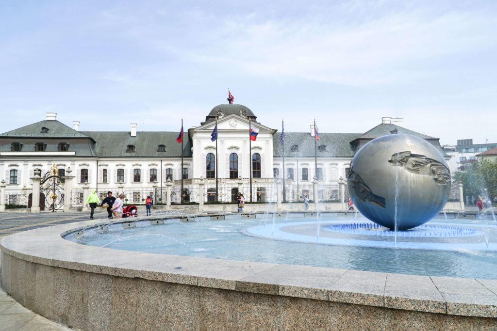 Bratislava palazzo Grassalkovich