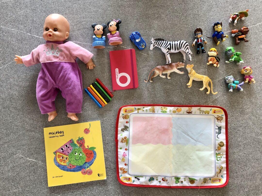 giochi da viaggio per bambini di due anni