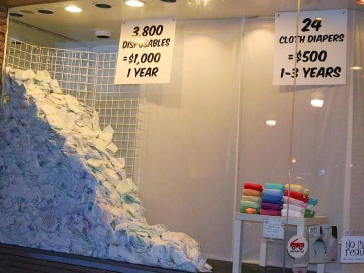 vantaggi dei pannolini lavabili