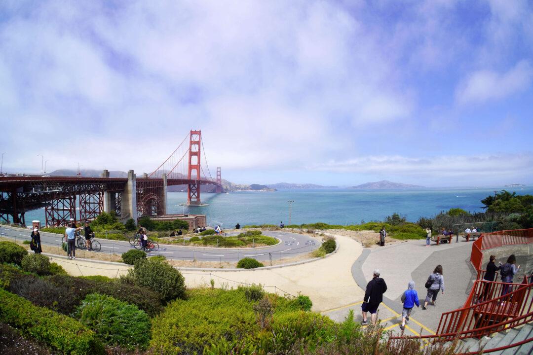 Golden Gate Bridge vista